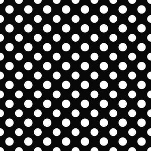 "Crafter's Vinyl Supply Cut Vinyl ORAJET 3651 / 12"" x 12"" Large Polka Dot Pattern 24 - Pattern Vinyl and HTV by Crafters Vinyl Supply"