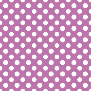 "Crafter's Vinyl Supply Cut Vinyl ORAJET 3651 / 12"" x 12"" Large Polka Dot Pattern 9 - Pattern Vinyl and HTV by Crafters Vinyl Supply"