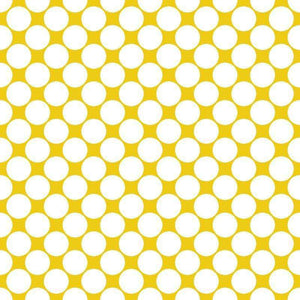"Crafter's Vinyl Supply Cut Vinyl ORAJET 3651 / 12"" x 12"" Large White Dot Pattern 2 - Pattern Vinyl and HTV by Crafters Vinyl Supply"