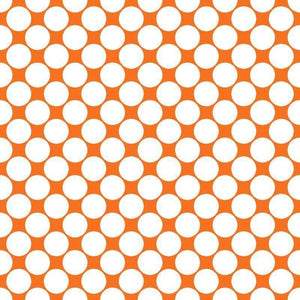 "Crafter's Vinyl Supply Cut Vinyl ORAJET 3651 / 12"" x 12"" Large White Dot Pattern 3 - Pattern Vinyl and HTV by Crafters Vinyl Supply"