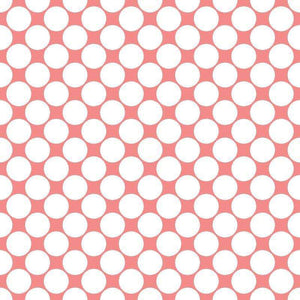 "Crafter's Vinyl Supply Cut Vinyl ORAJET 3651 / 12"" x 12"" Large White Dot Pattern 5 - Pattern Vinyl and HTV by Crafters Vinyl Supply"