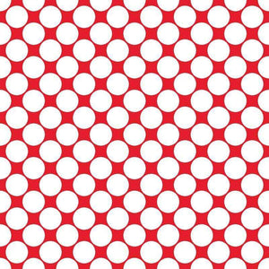 "Crafter's Vinyl Supply Cut Vinyl ORAJET 3651 / 12"" x 12"" Large White Dot Pattern 8 - Pattern Vinyl and HTV by Crafters Vinyl Supply"