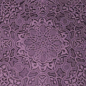 "Crafter's Vinyl Supply Cut Vinyl ORAJET 3651 / 12"" x 12"" Lilac Old Ceiling - Pattern Vinyl and HTV by Crafters Vinyl Supply"