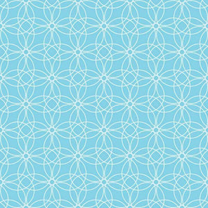 "Crafter's Vinyl Supply Cut Vinyl ORAJET 3651 / 12"" x 12"" Loopy Circles Patterns 12 - Pattern Vinyl and HTV by Crafters Vinyl Supply"