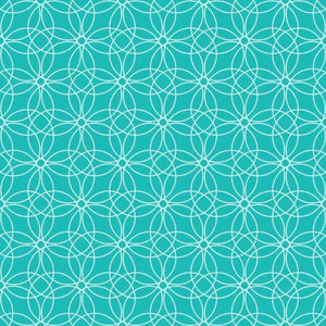 "Crafter's Vinyl Supply Cut Vinyl ORAJET 3651 / 12"" x 12"" Loopy Circles Patterns 13 - Pattern Vinyl and HTV by Crafters Vinyl Supply"