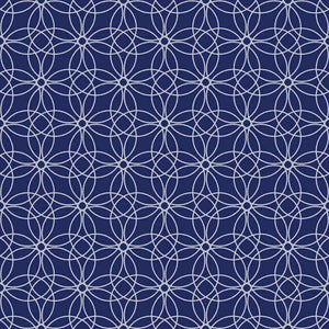 "Crafter's Vinyl Supply Cut Vinyl ORAJET 3651 / 12"" x 12"" Loopy Circles Patterns 16 - Pattern Vinyl and HTV by Crafters Vinyl Supply"