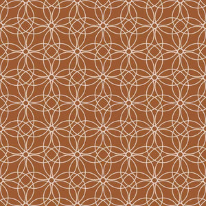 "Crafter's Vinyl Supply Cut Vinyl ORAJET 3651 / 12"" x 12"" Loopy Circles Patterns 21 - Pattern Vinyl and HTV by Crafters Vinyl Supply"