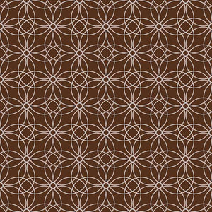 "Crafter's Vinyl Supply Cut Vinyl ORAJET 3651 / 12"" x 12"" Loopy Circles Patterns 22 - Pattern Vinyl and HTV by Crafters Vinyl Supply"