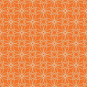 "Crafter's Vinyl Supply Cut Vinyl ORAJET 3651 / 12"" x 12"" Loopy Circles Patterns 3 - Pattern Vinyl and HTV by Crafters Vinyl Supply"