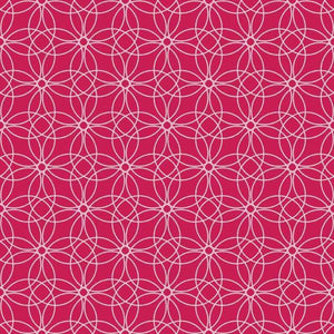 "Crafter's Vinyl Supply Cut Vinyl ORAJET 3651 / 12"" x 12"" Loopy Circles Patterns 7 - Pattern Vinyl and HTV by Crafters Vinyl Supply"