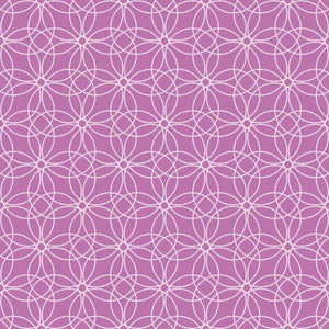 "Crafter's Vinyl Supply Cut Vinyl ORAJET 3651 / 12"" x 12"" Loopy Circles Patterns 9 - Pattern Vinyl and HTV by Crafters Vinyl Supply"