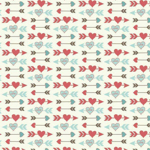 "Crafter's Vinyl Supply Cut Vinyl ORAJET 3651 / 12"" x 12"" Love Paper 1 - Pattern Vinyl and HTV by Crafters Vinyl Supply"