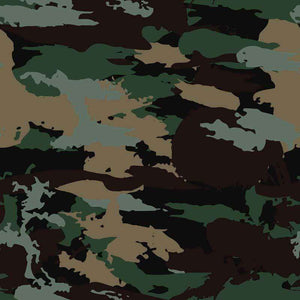 "Crafter's Vinyl Supply Cut Vinyl ORAJET 3651 / 12"" x 12"" Midnight Forest Green Camo - Pattern Vinyl and HTV by Crafters Vinyl Supply"