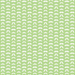 "Crafter's Vinyl Supply Cut Vinyl ORAJET 3651 / 12"" x 12"" Mustaches Patterns 17 - Pattern Vinyl and HTV by Crafters Vinyl Supply"