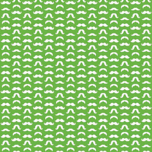 "Crafter's Vinyl Supply Cut Vinyl ORAJET 3651 / 12"" x 12"" Mustaches Patterns 18 - Pattern Vinyl and HTV by Crafters Vinyl Supply"