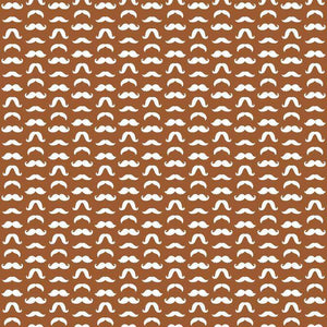 "Crafter's Vinyl Supply Cut Vinyl ORAJET 3651 / 12"" x 12"" Mustaches Patterns 21 - Pattern Vinyl and HTV by Crafters Vinyl Supply"