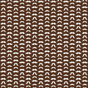 "Crafter's Vinyl Supply Cut Vinyl ORAJET 3651 / 12"" x 12"" Mustaches Patterns 22 - Pattern Vinyl and HTV by Crafters Vinyl Supply"