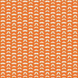 "Crafter's Vinyl Supply Cut Vinyl ORAJET 3651 / 12"" x 12"" Mustaches Patterns 3 - Pattern Vinyl and HTV by Crafters Vinyl Supply"