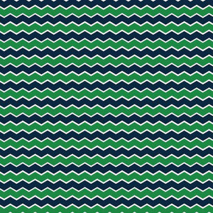"Crafter's Vinyl Supply Cut Vinyl ORAJET 3651 / 12"" x 12"" Nautical in Green and Navy Patterns 1 - Pattern Vinyl and HTV by Crafters Vinyl Supply"