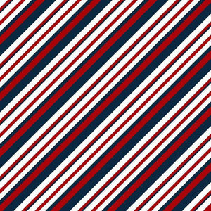 "Crafter's Vinyl Supply Cut Vinyl ORAJET 3651 / 12"" x 12"" Nautical in Red and Navy Patterns 5 - Pattern Vinyl and HTV by Crafters Vinyl Supply"