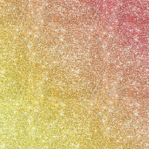"Crafter's Vinyl Supply Cut Vinyl ORAJET 3651 / 12"" x 12"" Rainbow Printed Faux Glitter #13 - Pattern Vinyl and HTV by Crafters Vinyl Supply"
