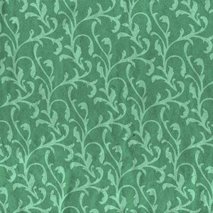 "Crafter's Vinyl Supply Cut Vinyl ORAJET 3651 / 12"" x 12"" Red and Green Vintage Pattern 5 - Pattern Vinyl and HTV by Crafters Vinyl Supply"
