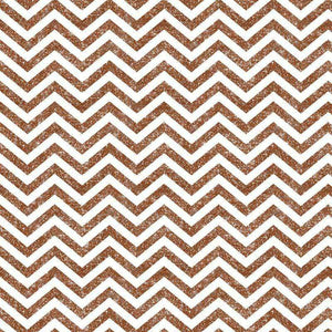 "Crafter's Vinyl Supply Cut Vinyl ORAJET 3651 / 12"" x 12"" Rust Printed Faux Glitter Chevron - Pattern Vinyl and HTV by Crafters Vinyl Supply"