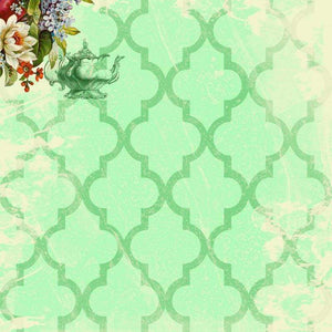 "Crafter's Vinyl Supply Cut Vinyl ORAJET 3651 / 12"" x 12"" Sassy and Chic Pattern 22 - Pattern Vinyl and HTV by Crafters Vinyl Supply"