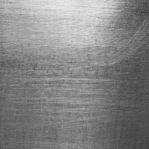 "Crafter's Vinyl Supply Cut Vinyl ORAJET 3651 / 12"" x 12"" Scratched Brushed Metal - Pattern Vinyl and HTV by Crafters Vinyl Supply"