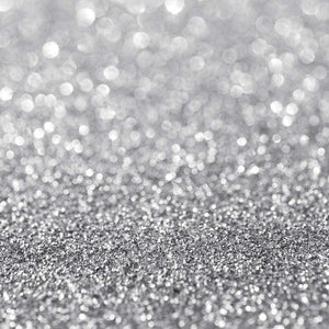 "Crafter's Vinyl Supply Cut Vinyl ORAJET 3651 / 12"" x 12"" Silver Printed Faux Glitter Bokeh - Pattern Vinyl and HTV by Crafters Vinyl Supply"