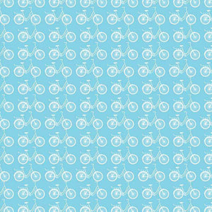 "Crafter's Vinyl Supply Cut Vinyl ORAJET 3651 / 12"" x 12"" Sky Blue Ride A Bike - Pattern Vinyl and HTV by Crafters Vinyl Supply"