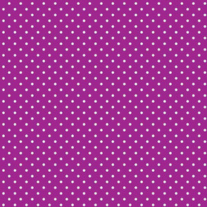 "Crafter's Vinyl Supply Cut Vinyl ORAJET 3651 / 12"" x 12"" Small White Dot Pattern 10 - Pattern Vinyl and HTV by Crafters Vinyl Supply"
