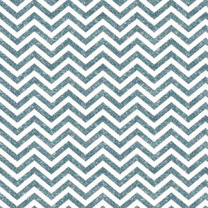 "Crafter's Vinyl Supply Cut Vinyl ORAJET 3651 / 12"" x 12"" Steel Blue Printed Faux Glitter Chevron - Pattern Vinyl and HTV by Crafters Vinyl Supply"