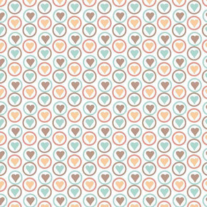 "Crafter's Vinyl Supply Cut Vinyl ORAJET 3651 / 12"" x 12"" Sweet Love 5 - Pattern Vinyl and HTV by Crafters Vinyl Supply"