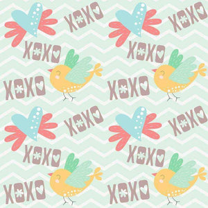 "Crafter's Vinyl Supply Cut Vinyl ORAJET 3651 / 12"" x 12"" Sweet Valentine Patterns 11 - Pattern Vinyl and HTV by Crafters Vinyl Supply"
