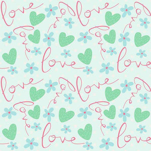 "Crafter's Vinyl Supply Cut Vinyl ORAJET 3651 / 12"" x 12"" Sweet Valentine Patterns 2 - Pattern Vinyl and HTV by Crafters Vinyl Supply"