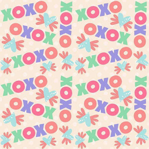"Crafter's Vinyl Supply Cut Vinyl ORAJET 3651 / 12"" x 12"" Sweet Valentine Patterns 35 - Pattern Vinyl and HTV by Crafters Vinyl Supply"