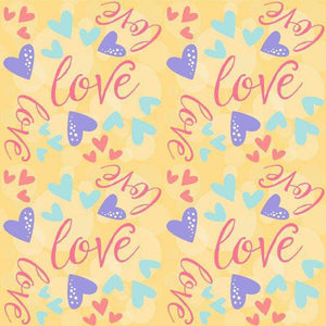 "Crafter's Vinyl Supply Cut Vinyl ORAJET 3651 / 12"" x 12"" Sweet Valentine Patterns 4 - Pattern Vinyl and HTV by Crafters Vinyl Supply"
