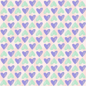"Crafter's Vinyl Supply Cut Vinyl ORAJET 3651 / 12"" x 12"" Sweet Valentine Patterns 6 - Pattern Vinyl and HTV by Crafters Vinyl Supply"