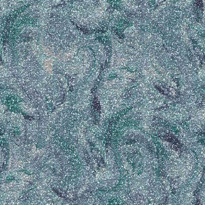 "Crafter's Vinyl Supply Cut Vinyl ORAJET 3651 / 12"" x 12"" Teal Blue Printed Faux Glitter Marble - Pattern Vinyl and HTV by Crafters Vinyl Supply"