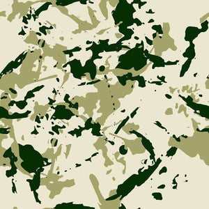 "Crafter's Vinyl Supply Cut Vinyl ORAJET 3651 / 12"" x 12"" Tundra Green Camo - Pattern Vinyl and HTV by Crafters Vinyl Supply"