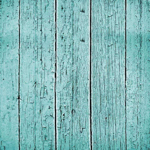 "Crafter's Vinyl Supply Cut Vinyl ORAJET 3651 / 12"" x 12"" Turquoise Cracked Wood - Pattern Vinyl and HTV by Crafters Vinyl Supply"