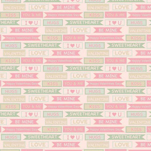"Crafter's Vinyl Supply Cut Vinyl ORAJET 3651 / 12"" x 12"" Vintage Love 2 - Pattern Vinyl and HTV by Crafters Vinyl Supply"