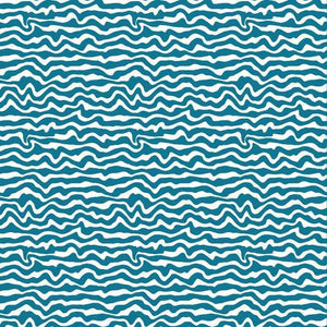 "Crafter's Vinyl Supply Cut Vinyl ORAJET 3651 / 12"" x 12"" Wavy Stripe Patterns 14 - Pattern Vinyl and HTV by Crafters Vinyl Supply"