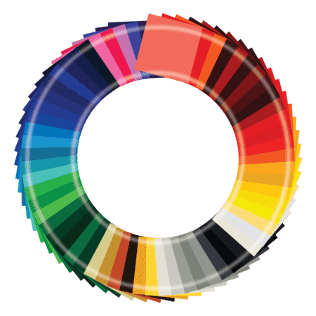 Crafter's Vinyl Supply Oracal 651 Starter Pack - 65 Colors - 12x12 Inch Sheets by Crafters Vinyl Supply