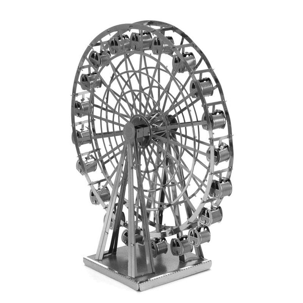 3D Laser Cut Metallic Nano Puzzle - Ferris Wheel