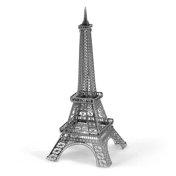 3D Laser Cut Metallic Nano Puzzle - Eiffel Tower