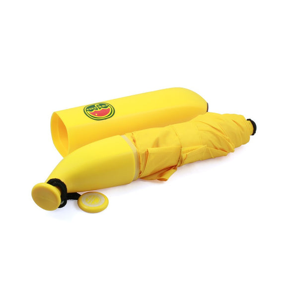 Novelty Vegetable Compact Umbrella - Banana