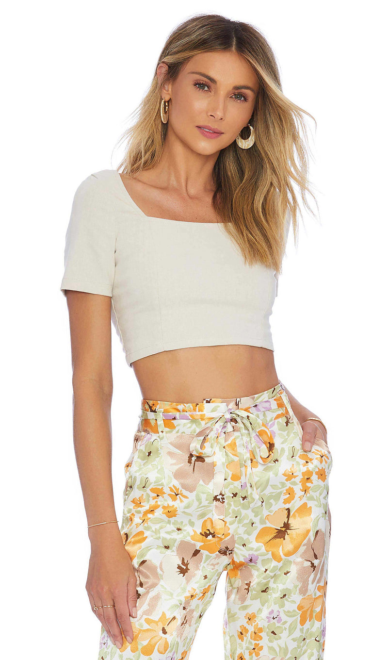 Callie Crop Top