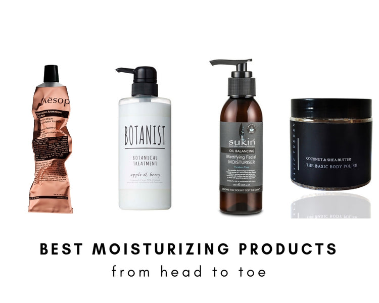 Best Moisturizing Products We Swear By